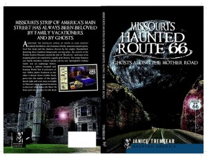 cover Missouri's Huanted Route 66 full spread