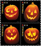 USPS to Release First Halloween-Themed Stamps